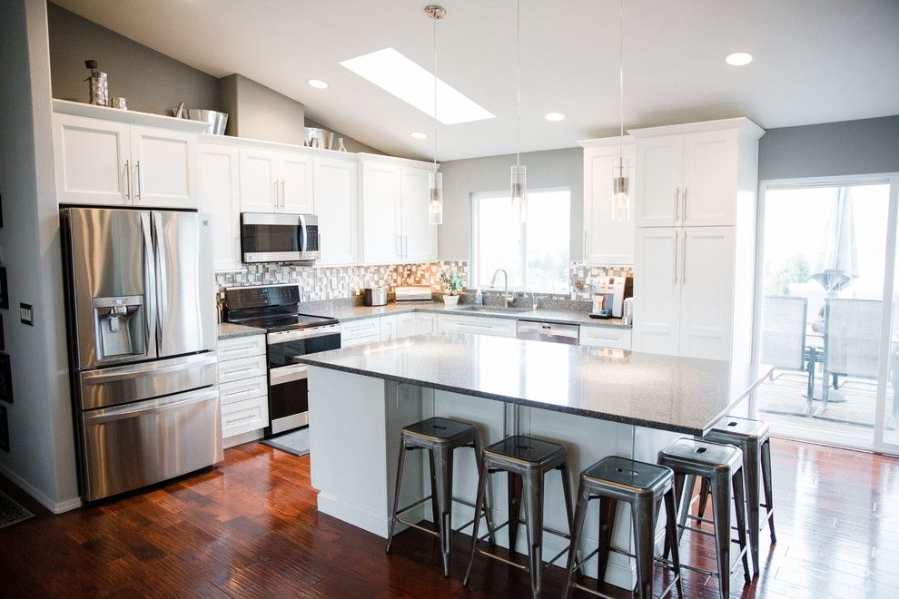 Lowes Seattle for a Transitional Kitchen with a Transitional Style and Classic Culver by Holly Loots, Akbd   Lowe's of Everett, Washington