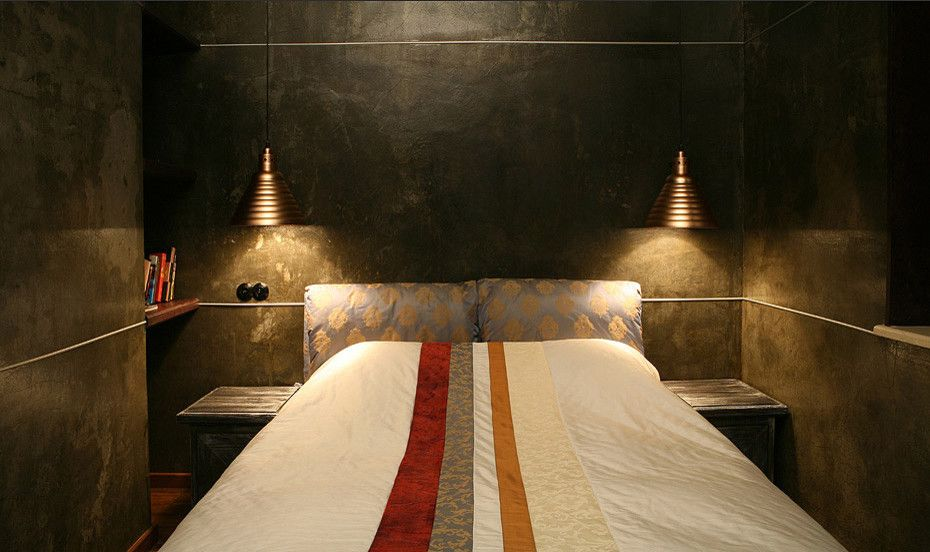 Lowes Surprise Az for a Contemporary Bedroom with a Patchwork and Medieval Theme Appartment by Natalia Skobkina