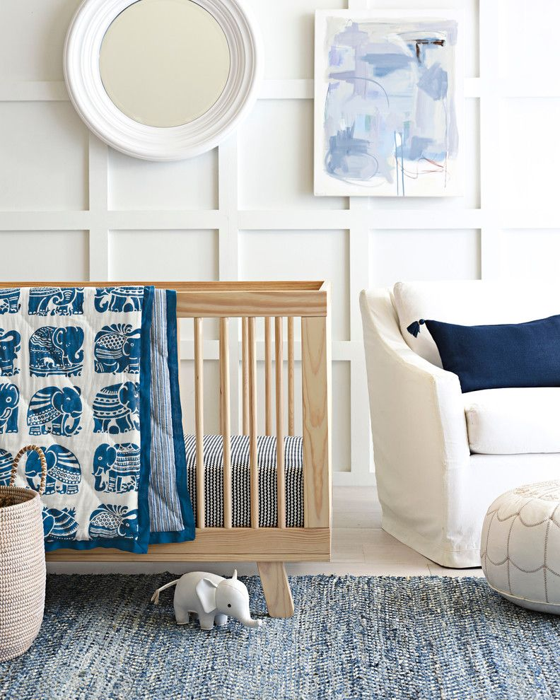 Lowes Warwick Ri for a Modern Nursery with a Blue and Nursery by Serena & Lily