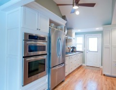 Lowes Warwick Ri for a Traditional Kitchen with a Kitchen Storage and Warwick, RI - Kitchen Remodel by INSPERIORS, LLC