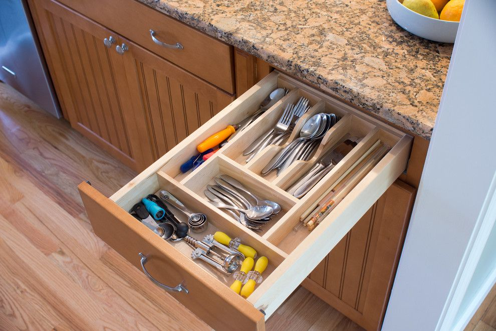 Lowes Warwick Ri for a Traditional Kitchen with a Knife Storage and Warwick, Ri   Kitchen Remodel by Insperiors, Llc