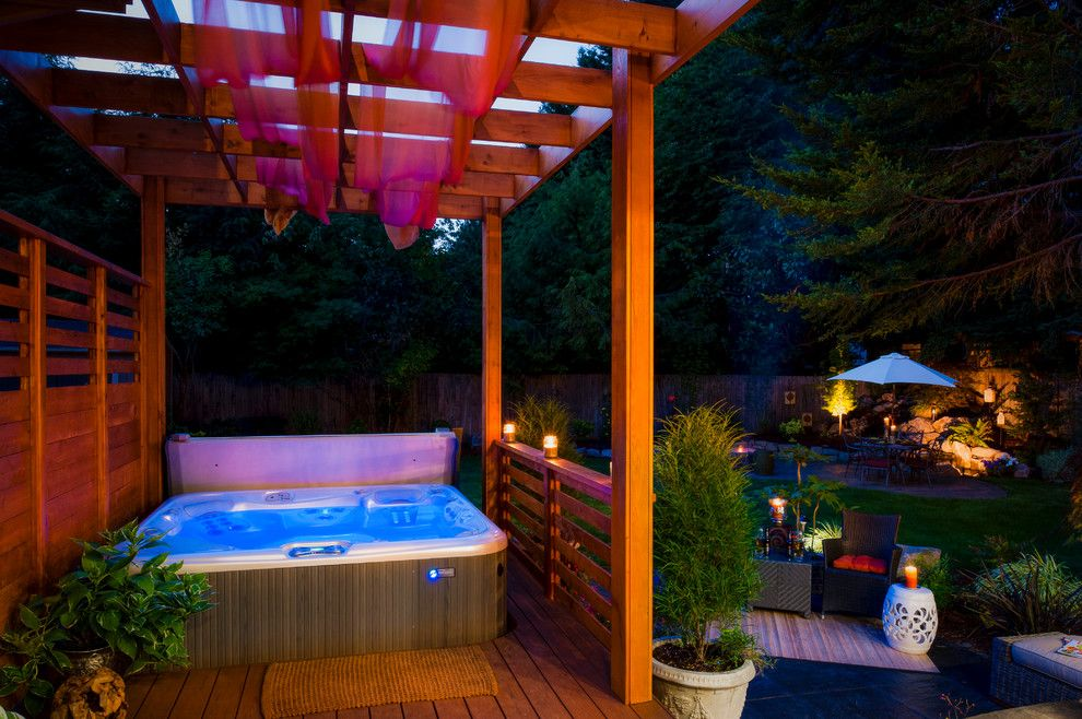 Lowes Washington Nc for a Contemporary Pool with a Hot Tub and Washington Property by Paradise Restored Landscaping & Exterior Design