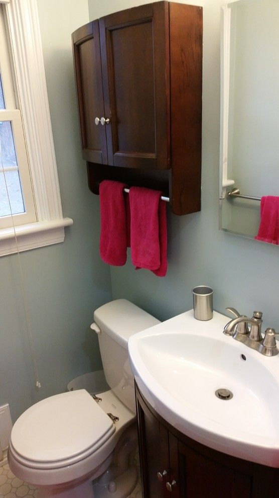 Lowes Williamsburg Va for a Transitional Bathroom with a Niche and Bath Project a 2015 by Lowes  Short Pump Va