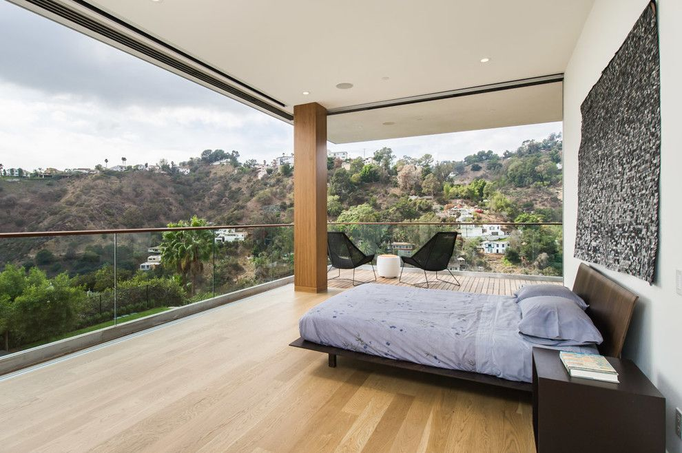 Lowes Yuba City for a Contemporary Bedroom with a Electronic Windows and Mt Olympus Residence by Whitten Architects, Inc.