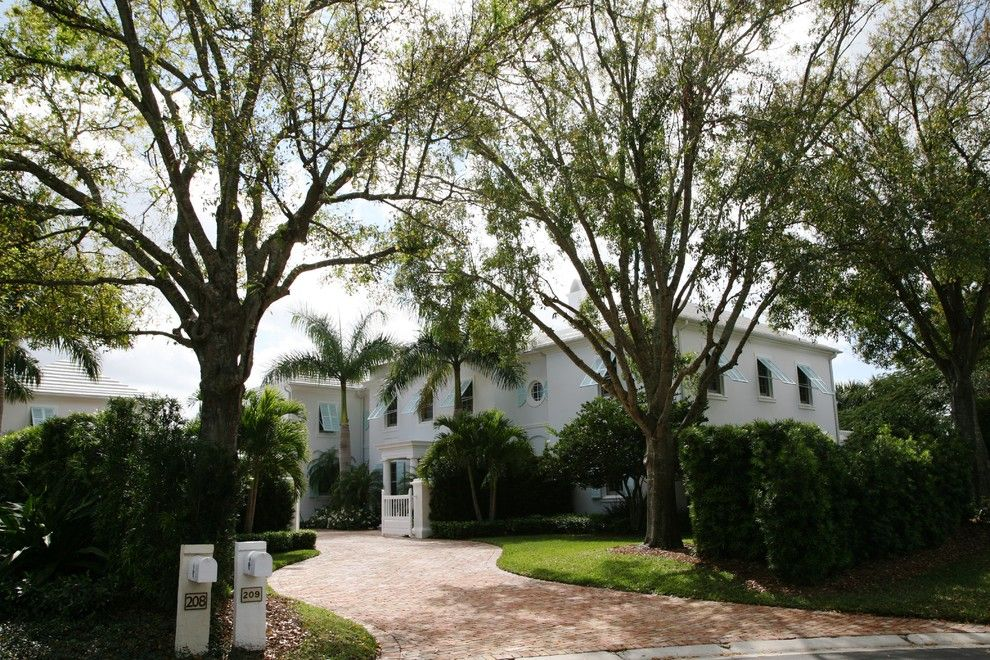 Loxahatchee Club for a Modern Landscape with a Brick Paving and Private Residence (2), Loxahatchee Club by Studio Sprout