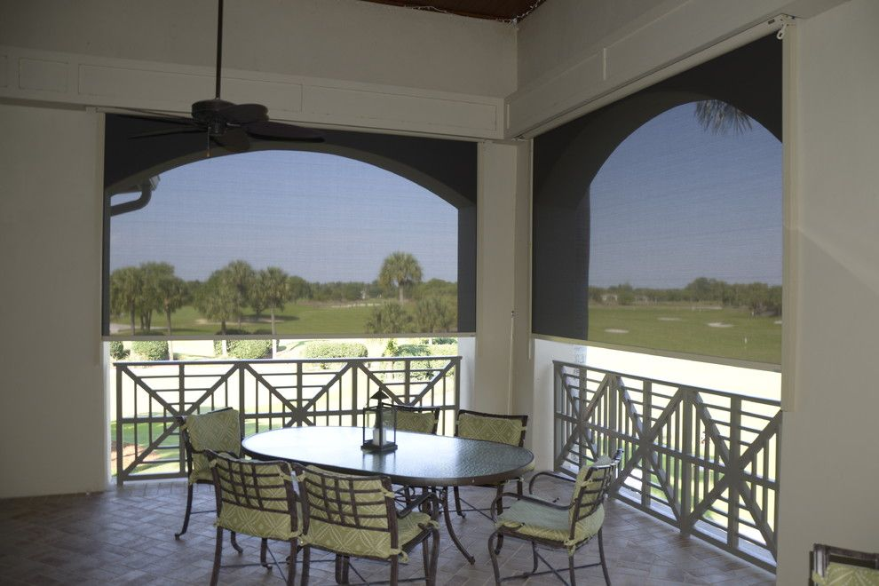 Loxahatchee Club for a Tropical Patio with a Tropical and Loxahatchee Club by Exterior Shading Systems of Florida