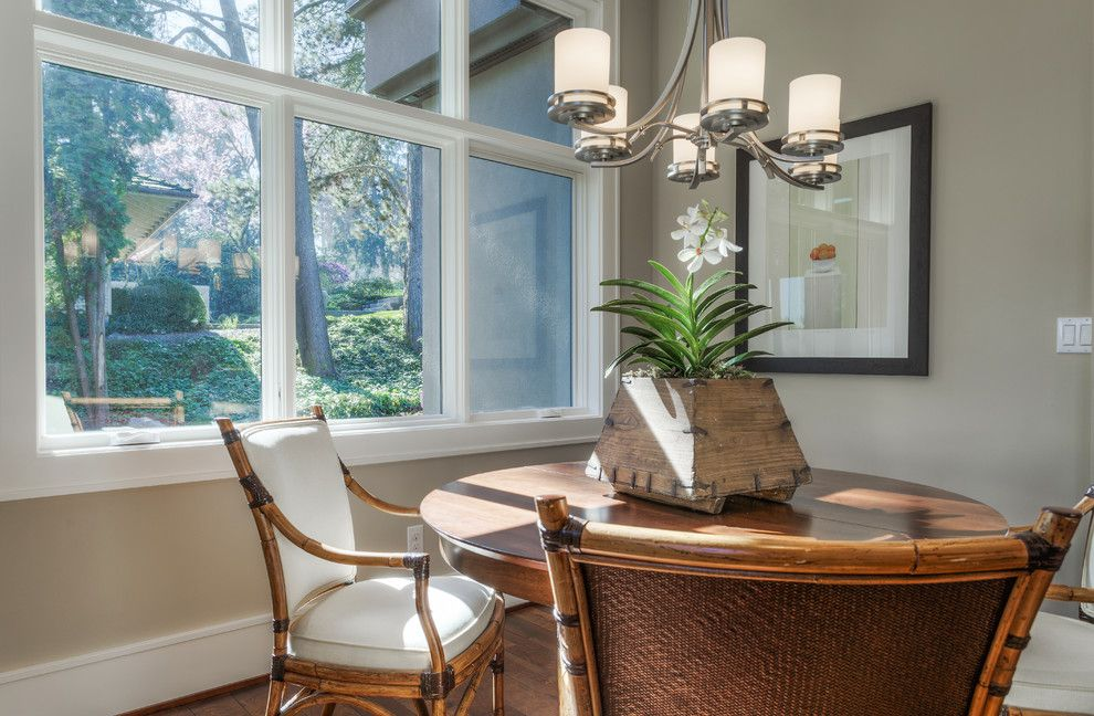 Lozier for a Transitional Dining Room with a Custom Home and Lochwood Lozier Custom Home in Medina by Lochwood Lozier Custom Homes