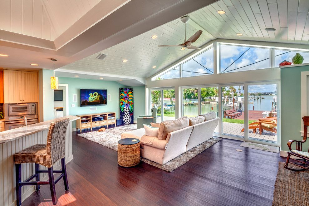 Lumber Liquidators Complaints for a Contemporary Family Room with a Contemporary and Ranch House Renovation by Bud Dietrich, Aia
