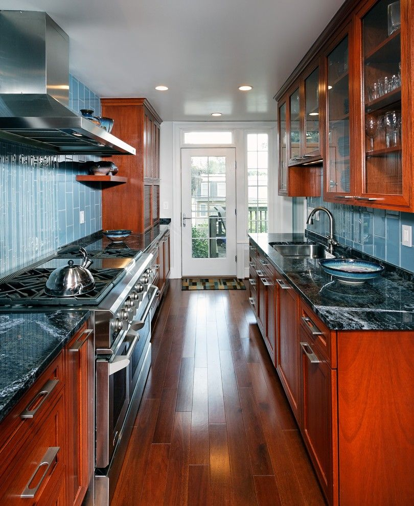 Lumber Liquidators Near Me for a Contemporary Kitchen with a Stainless Steel Appliances and Case Design/remodeling, Inc. by Case Design/remodeling, Inc.