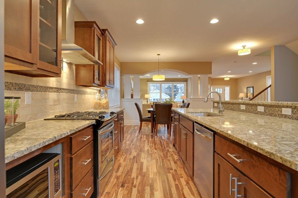 Lumber Liquidators Reviews for a Traditional Kitchen with a Traditional and Kitchen by Sustainable Nine Design + Build