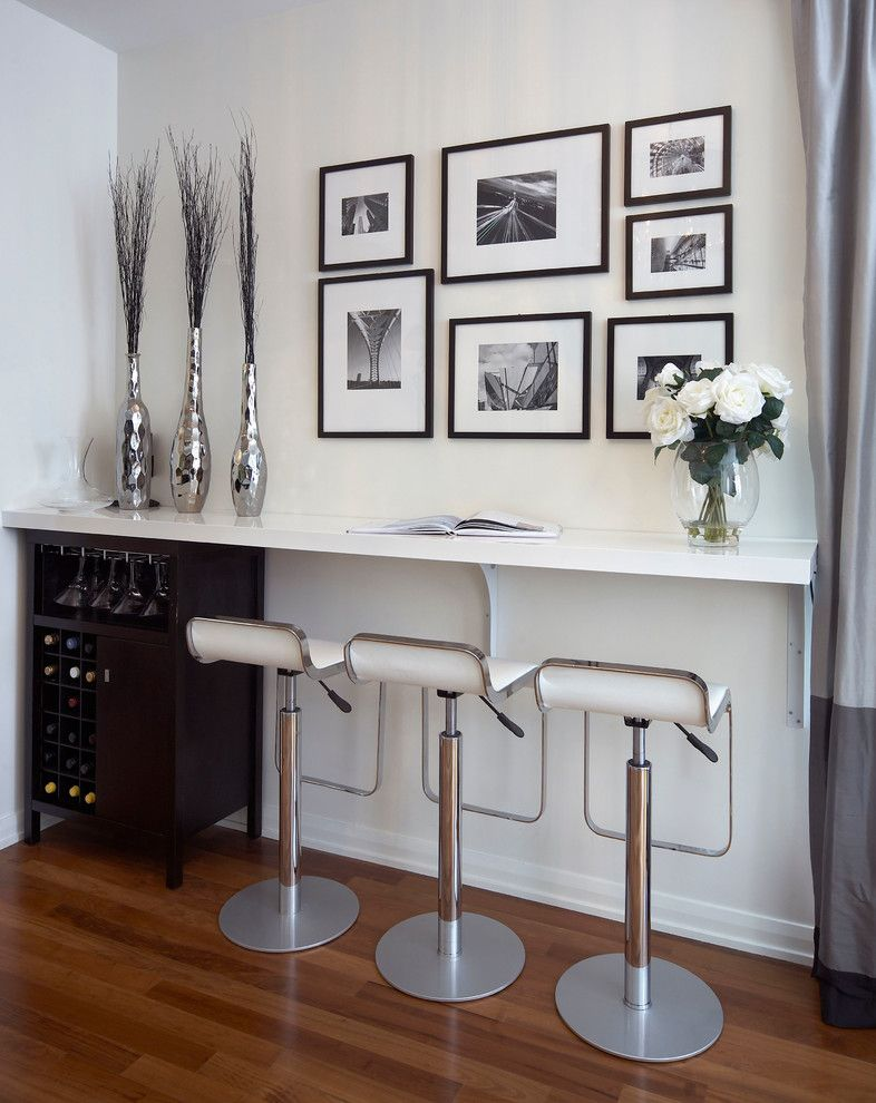 Lux Hair Salon For A Contemporary Living Room With A Wine Rack And Soho  Condo, Part 85