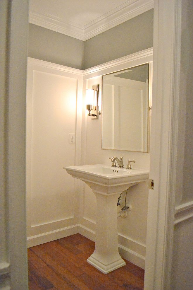 Lyndhurst Castle for a Traditional Powder Room with a Traditional and Powder Room by Sixteen Fourteen