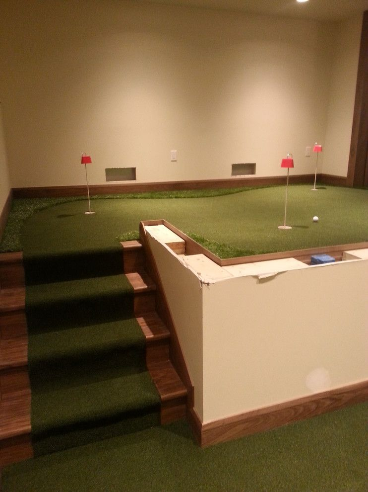 Madison Correctional Facility for a  Spaces with a Tee Box and Madison, Wi by Executive Putting Greens