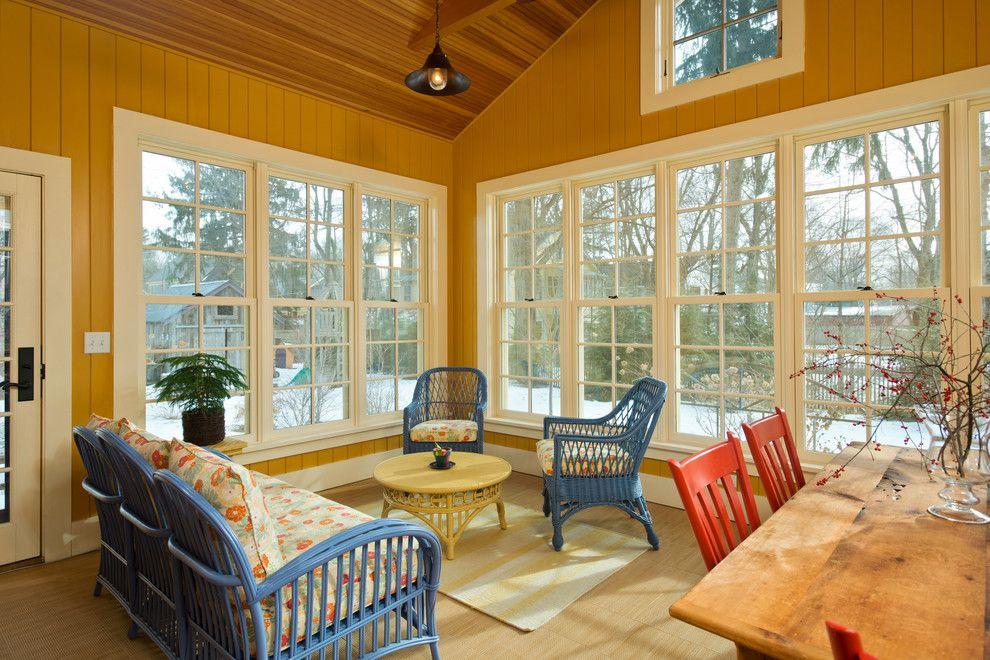 Marana Health Center for a Farmhouse Sunroom with a Sunroom and Leed Platinum Home by Phinney Design Group