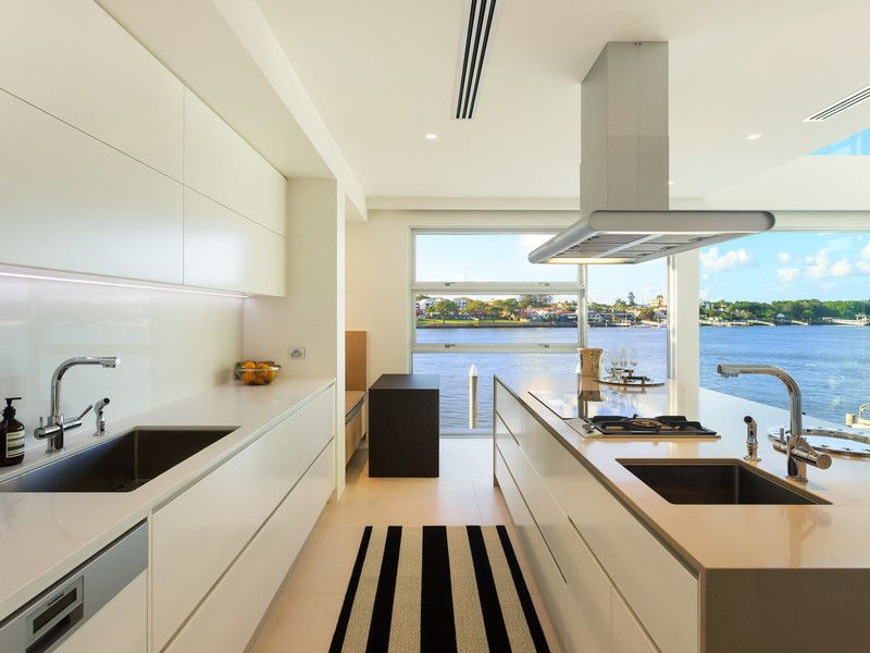 Marbeck Appliance for a Modern Kitchen with a Stone and Norman Park by Builtex Homes