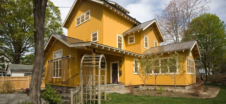 Marborg Santa Barbara for a Farmhouse Exterior with a Barn Style and Custom Homes by Phinney Design Group