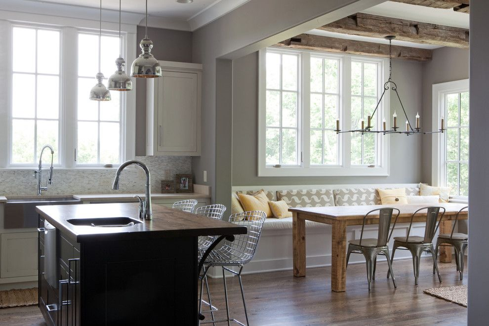 Marin Humane Society for a Contemporary Kitchen with a Chrome Pendant Lights and Stockett Drive, Franklin, Tn by Casella Interiors