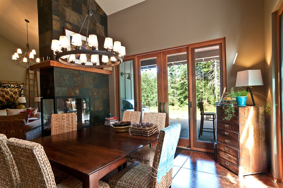 Marin Humane Society for a Transitional Dining Room with a Transitional and Furwood by Louise Lakier