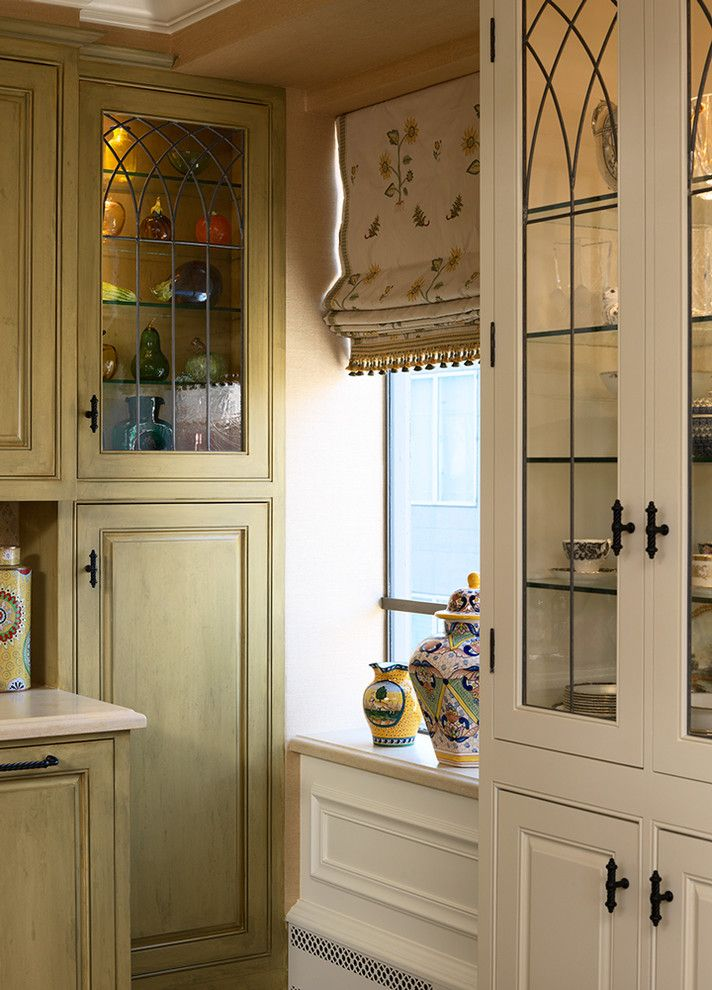 Marquis at Great Hills for a Traditional Kitchen with a Wood Cabinets and San Franacisco Nob Hill Highrise by Tres Mckinney Design