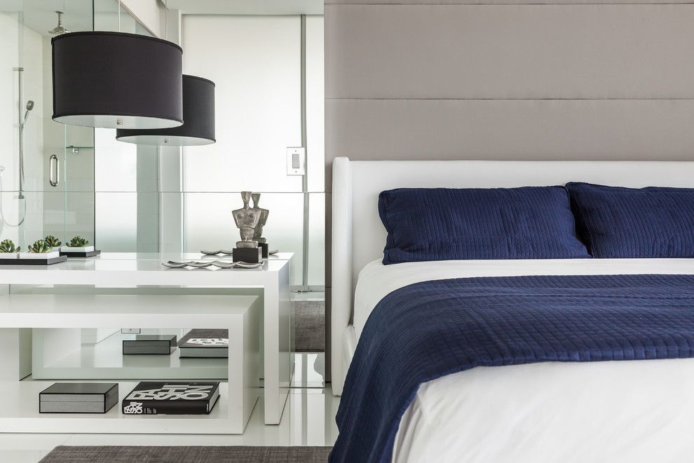 Marquis Furniture for a Contemporary Bedroom with a Raquel Mothe and Miami - Marquis by Mothe Design