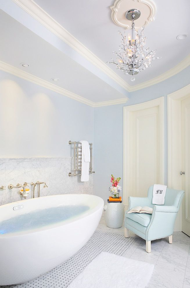 Massage Envy Atlanta for a Modern Bathroom with a Tile Wainscoting and Tyrrell and Laing International, Inc. by Tyrrell and Laing International, Inc.