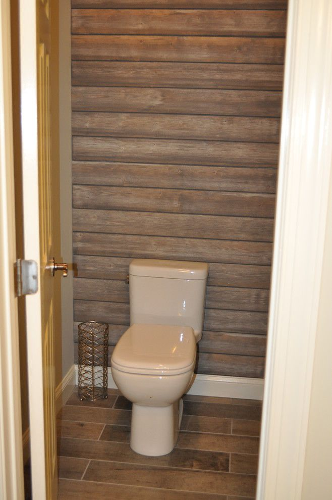 Massage Envy Atlanta for a Shabby Chic Style Bathroom with a Wood Wall Accent and Simpsons by Dmc Home Improvement