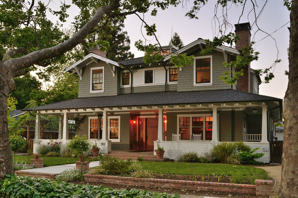Mastic Home Exteriors for a Craftsman Exterior with a Windows and Traditional Craftsman by Fgy Architects