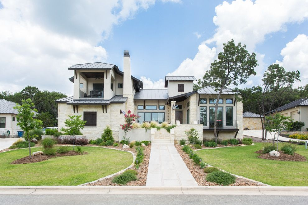Mastic Home Exteriors for a Transitional Exterior with a Modern Exterior and Newcombe Ranch by Omni Custom Homes