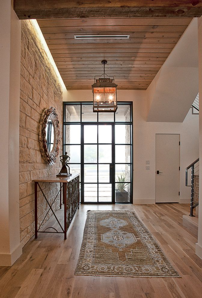 Mattamy Homes Az for a Transitional Entry with a Wall Decor and Cat Mountain Residence by Cornerstone Architects