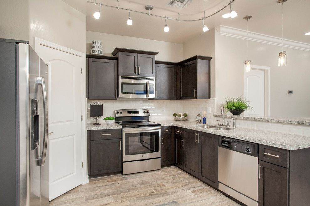 Mattamy Homes Az for a Transitional Kitchen with a Homes Arizona and the Village at Canyon Ridge West by Bellago Homes