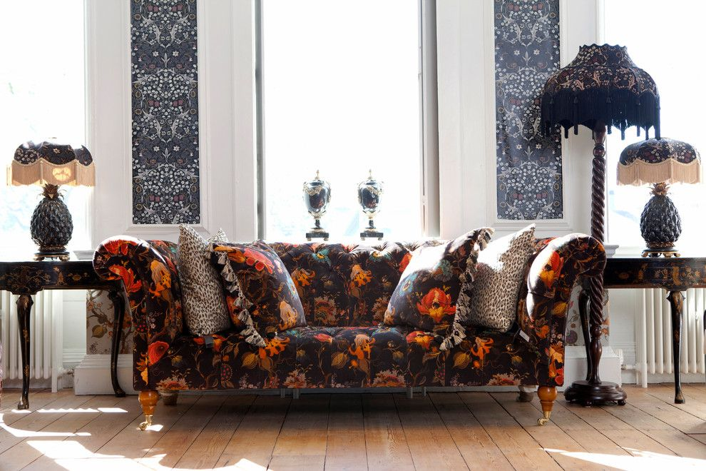 Maximalist for a  Spaces with a Art Nouveau and H O H X W I L L I a M  Mo R R I S by House of Hackney