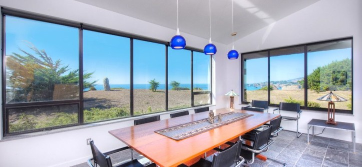 Mazama Country Inn for a Contemporary Dining Room with a Beach Home and Sea Arches of Mendocino Coast by Decker Bullock Sotheby's International Realty