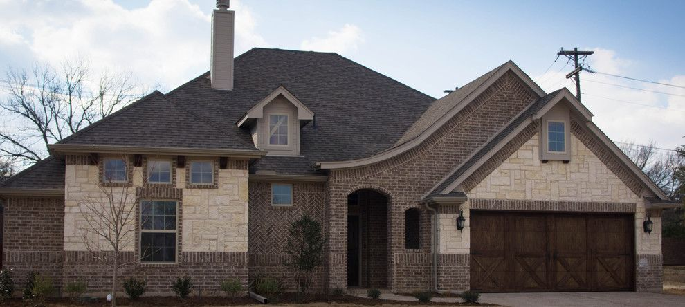 Mcbee Homes for a  Exterior with a Newhomesweatherfordtx and Thistle Hill Custom by Mcbee Homes