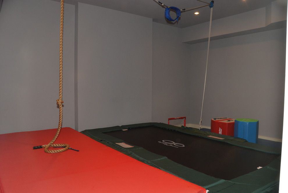 Mccall Golf Course for a Traditional Home Gym with a Building Design and Jacobean Country House by Wadia Associates