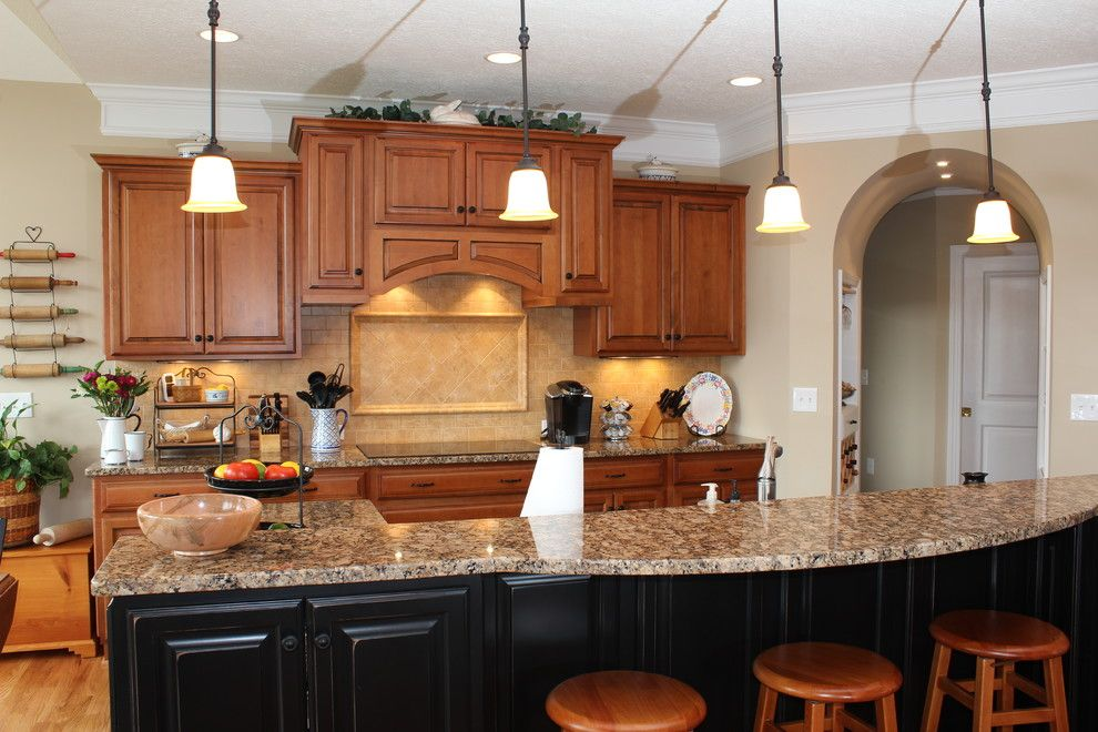 Mccall Golf Course for a Traditional Kitchen with a Traditional and River Course Golf Course Home by Progress Street Builders