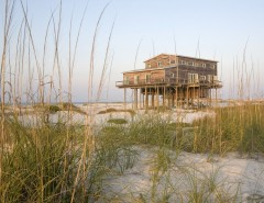 Mcloone'S Pier House for a Rustic Exterior with a Habitat Post Beam and Florida Island House by Habitat Post & Beam, Inc.