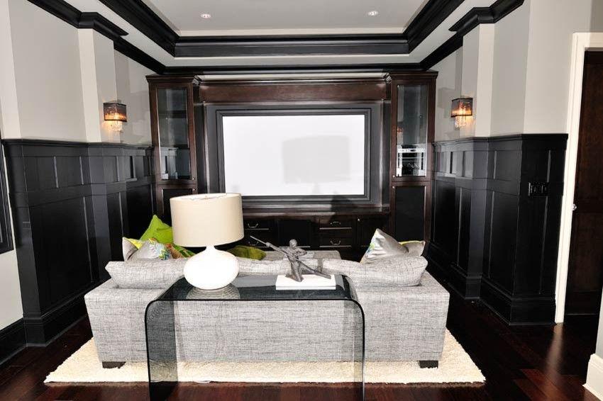 Mecca Furniture for a Contemporary Basement with a Contemporary and Basement by Tavan Group