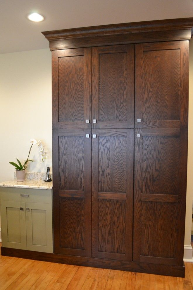 Mecca Furniture for a Rustic Kitchen with a Storage and Dynasty Mecca Oak Chestnut by Sterling Kitchen & Bath