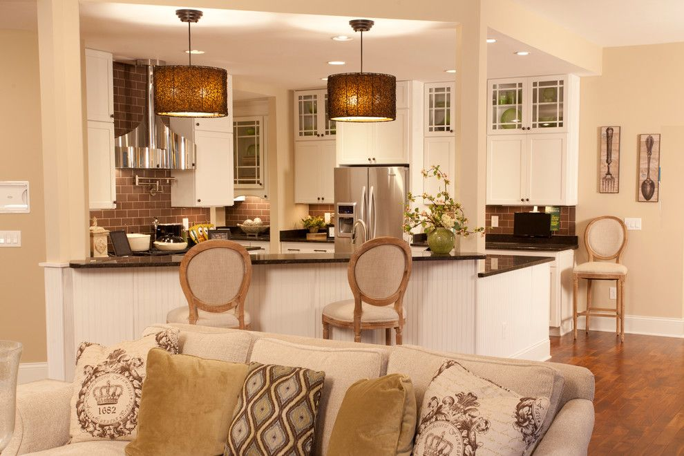 Medallion Homes for a Contemporary Kitchen with a Tan Throw Pillow and the Zero Energy Home by Potterhill Homes by Potterhill Homes, Llc