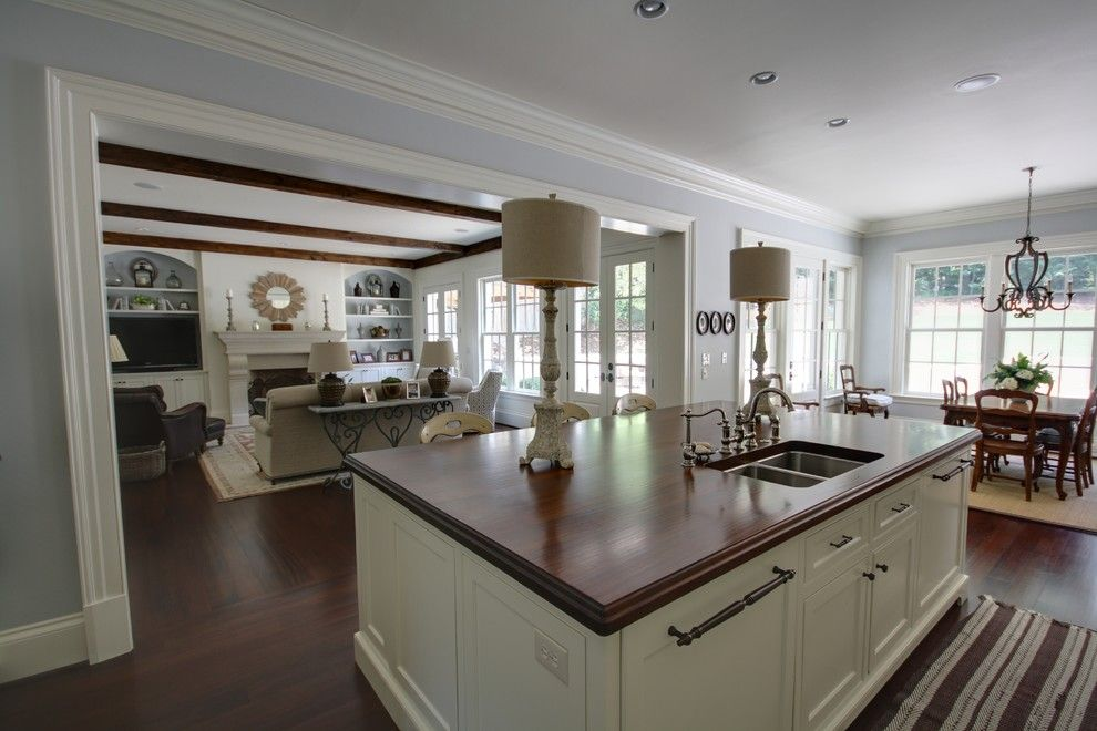 Melrose Discount Furniture for a Transitional Kitchen with a Transitional and Brookhaven by Castro Design Studio