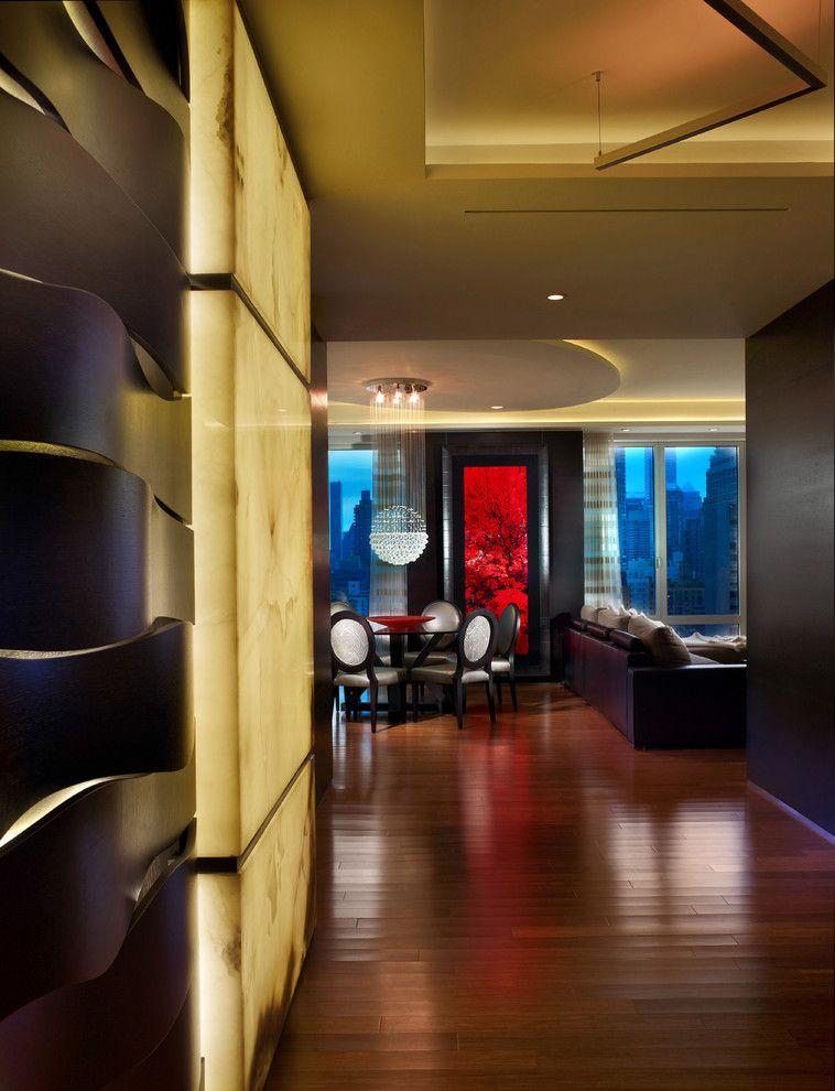 Menards Bay City for a Contemporary Entry with a Columbus Circle and New York   Manhattan   Denier   Residence by Pepe Calderin Design  Modern Interior Design