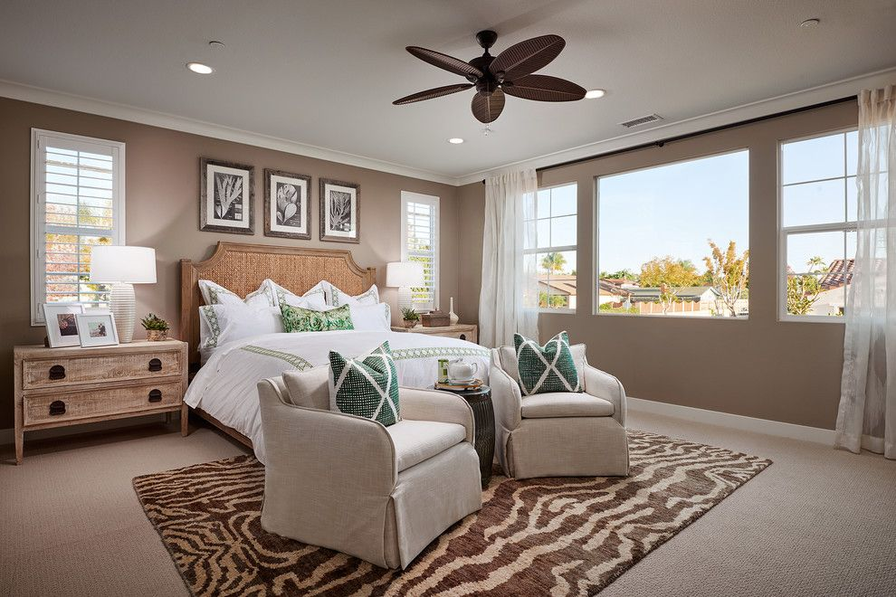 Menards Bay City for a Traditional Bedroom with a Beach Home and Master Bedroom - Insignia Carlsbad - New Homes by City Ventures - New Homes
