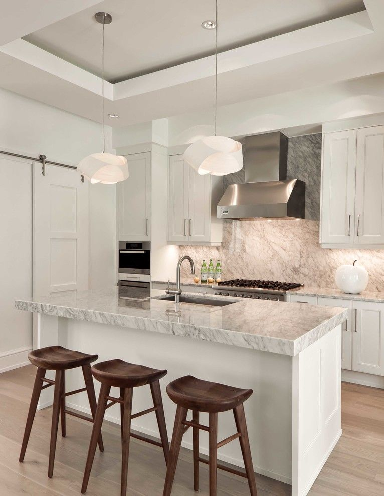 Menards Bay City for a Tropical Kitchen with a Jumby Bay and Jumby Bay - Molineaux by Naples ReDevelopment, Inc.
