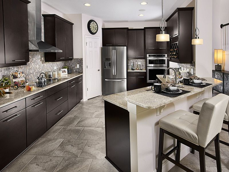 Meritage Homes Orlando for a Contemporary Kitchen with a Contemporary and the Wimberley Plan at Fells Landing | Orlando, Fl by Meritage Homes