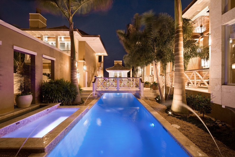 Meritage Homes Orlando for a Tropical Pool with a Tropical and Silver Sunrise by Silver Sea Homes