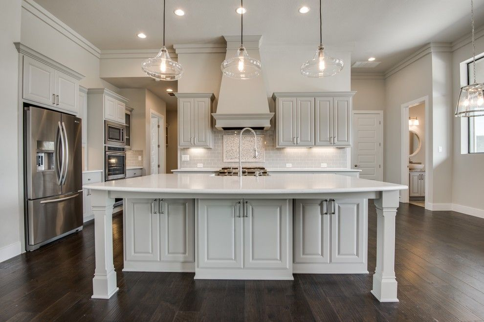 Meritage Homes San Antonio for a Transitional Kitchen with a San Antonio Custom Home Builders and Hill Country Nouveaux (Transitional) by Genuine Custom Homes