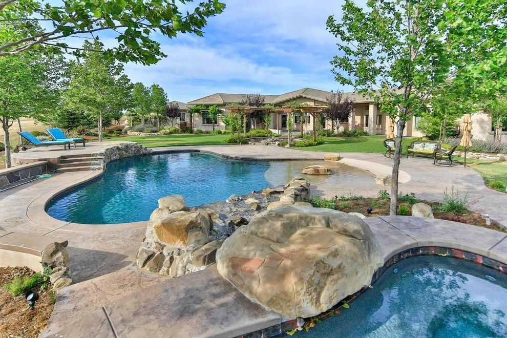 Midtown Arbor Place for a Traditional Pool with a Hardscape and Yolo Hilltop House by Designworks