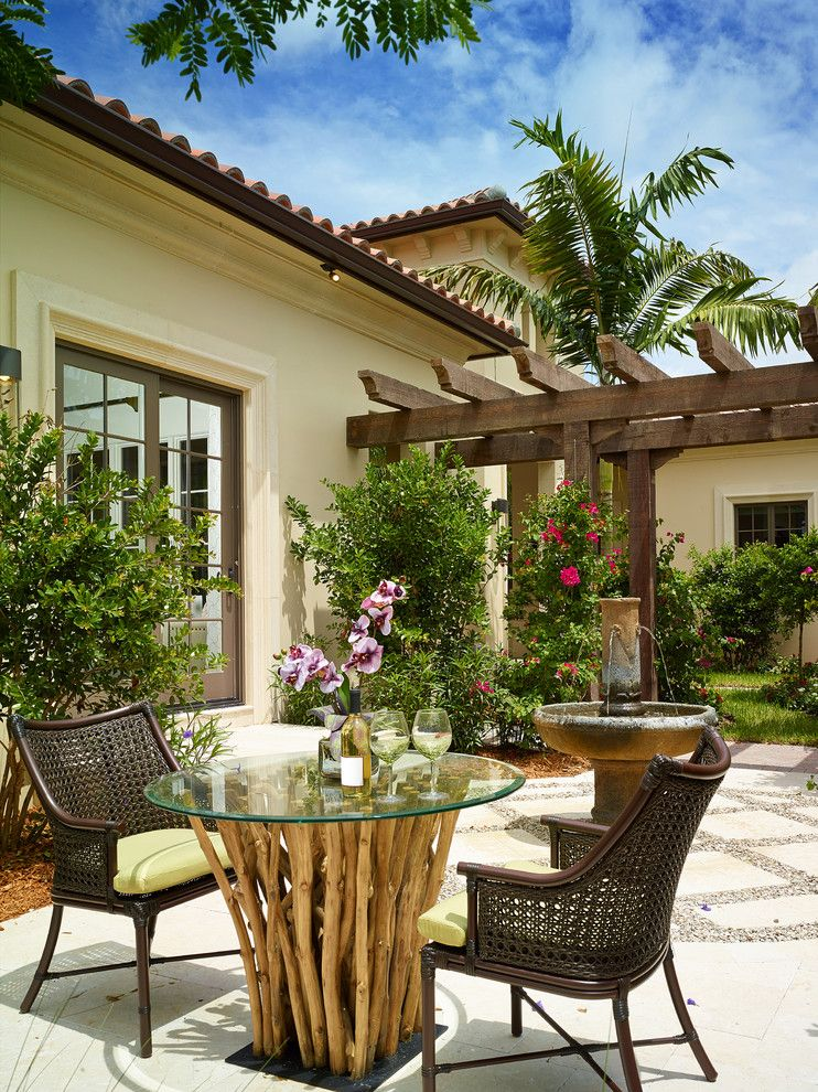 Midtown Arbor Place for a Tropical Patio with a Chairs and Annalisa at Mediterra by London Bay Homes