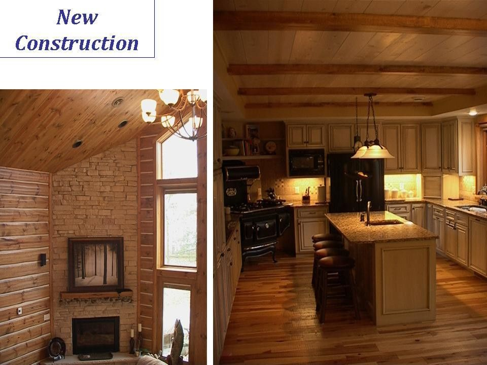 Midwest Appliance for a Rustic Kitchen with a Twin Cities Construction Company and New Construction & Additions by Lindus Construction/midwest Leafguard