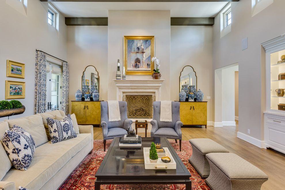 Mihomes for a Traditional Family Room with a Renovation and Geneseo by David Mills Custom Homes